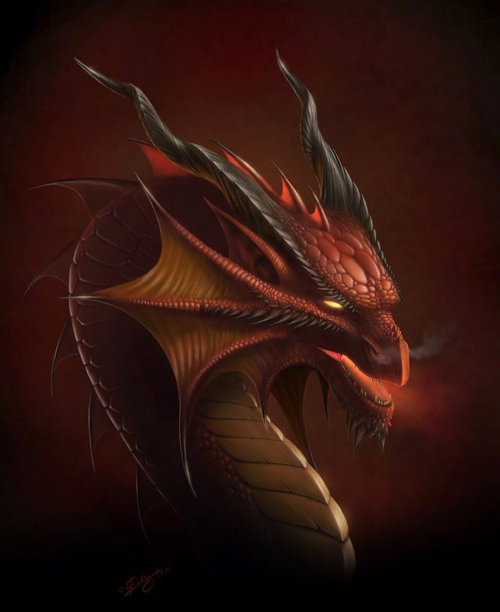 Dragon de feu - Images de dragons ...