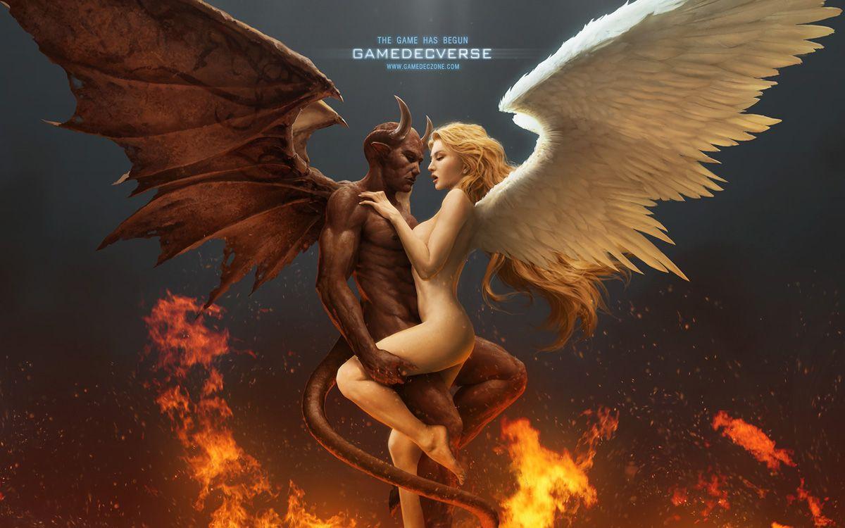 photo ange et demon