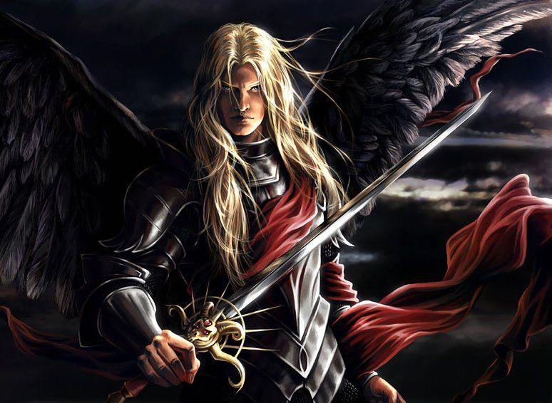 Ange noir - Dessin ange noir et blanc ...